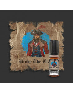 Brody the black 10ML Buccaneer's Juice - eliquide pour cigarette électronique - johnnyvape.fr