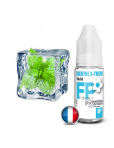 Menthe X-Trem  10ML Flavour Power - Eliquide Flavour power pas cher sur johnnyvape.fr
