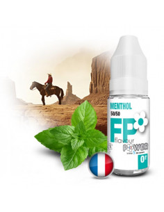 Menthol  10ML Flavour Power - Eliquide Flavour power pas cher sur johnnyvape.fr