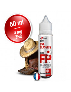 USA Classics 50ML Flavour Power - Eliquide pas cher - Johnnyvape