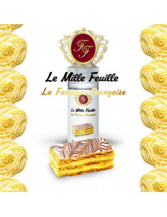 Arome Concentre Mille Feuille - Fabrique Francaise - Concentre  gourmand - JohnnyVape
