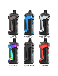Kit Aegis Boost Plus de Geek Vape - cigarette electronique Pod résistant aux chutes, chocs de Geek vape - Johnnyvape